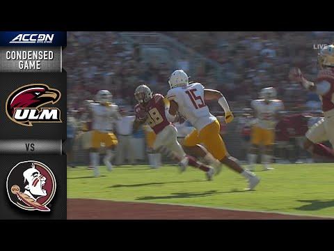 Louisiana-Monroe Vs. Florida State  Condensed Game | ACC Football 2019-20