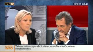 Bourdin Direct: Marine Le Pen - 10/12