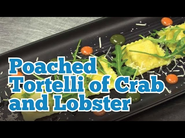 KITCHEN CRAFT - Poached Tortelli of Crab & Lobster