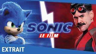 SONIC LE FILM -  Extrait Sonic vs Robotnik [Actuellement au cinéma]
