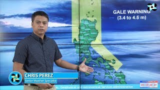 Public Weather Forecast Issued at 4:00 AM November 1, 2017