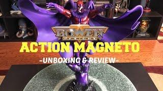 Bowen Designs - Action Magneto Statue (Artist Proof) Unboxing