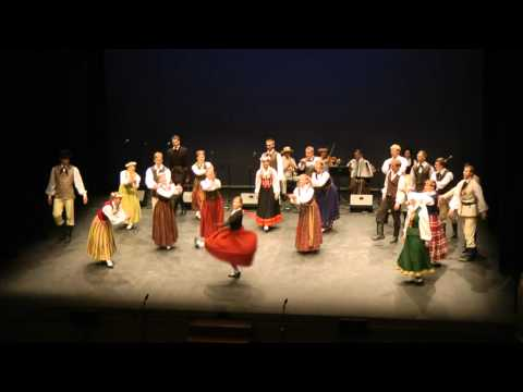 Latvian traditional folk dance: Govju kazāks