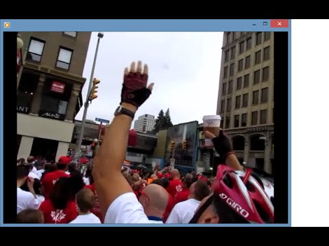 Canada Living Flag Moments In Ottawa, On Canada Day 2015