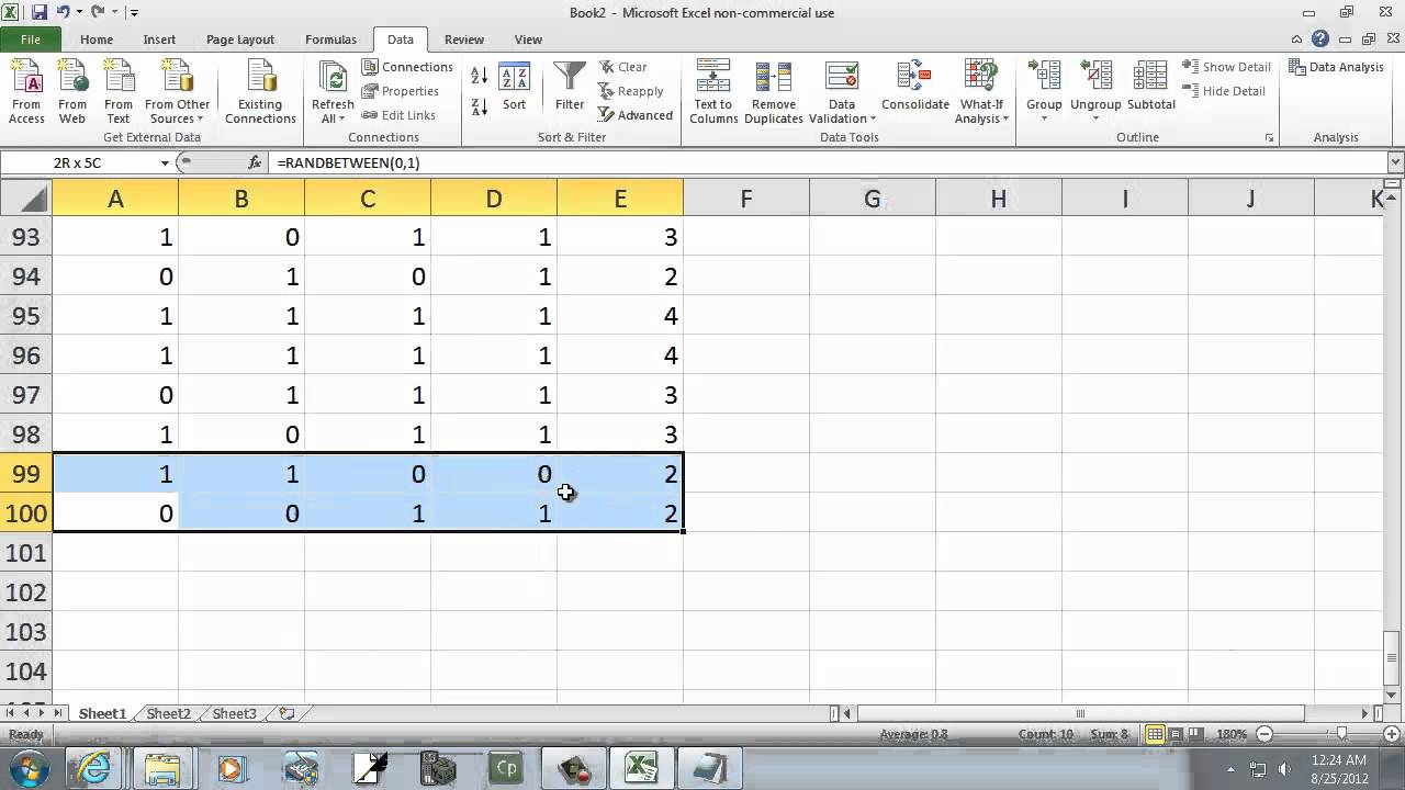 Simulation Queue In Excel Single Server