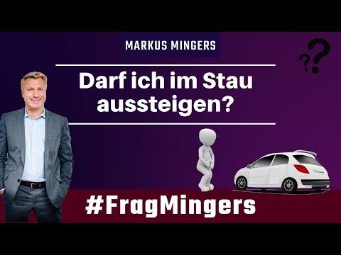 Darf ich im Stau aussteigen? | #FragMingers