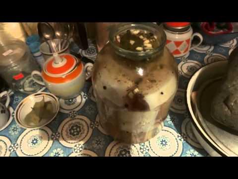 Как варить соленое сало