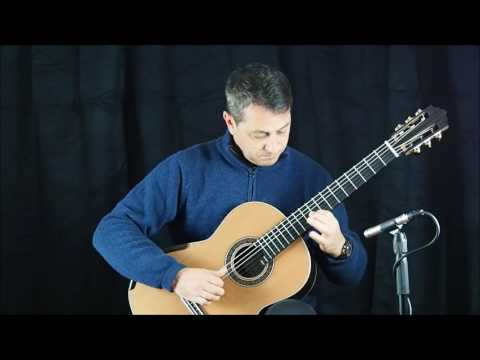 MARTIN BLACKWELL n° 135 2016 double-top classical guitar demo REIS VALSE- 16BLA135