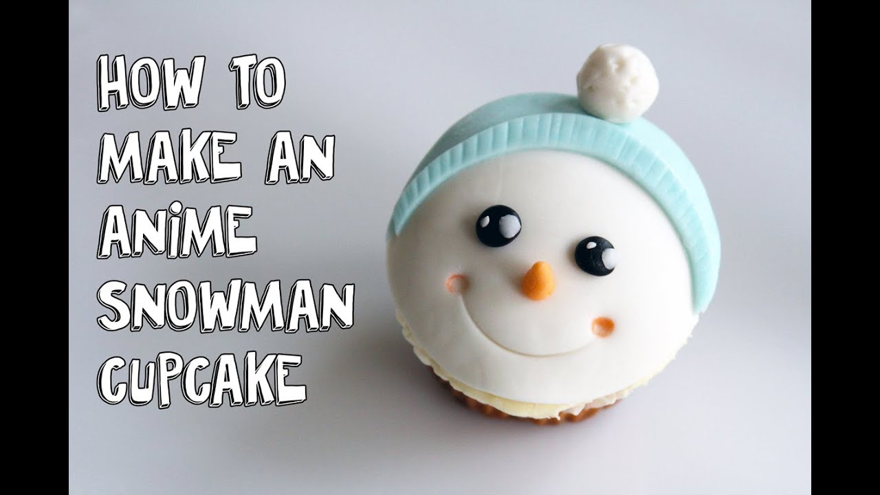 Adorable Fondant Snowman Christmas CupcakesCake Decorating For Beginners - YouTube & Adorable Fondant Snowman Christmas Cupcakes:Cake Decorating For ...