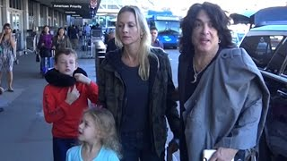Paul Stanley And Family Head Out For The Kiss Kruise