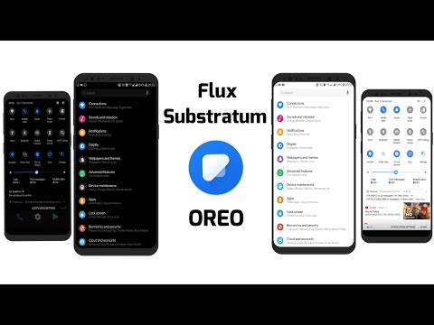 Flux Samsung Substratum Theme | Installation & Preview