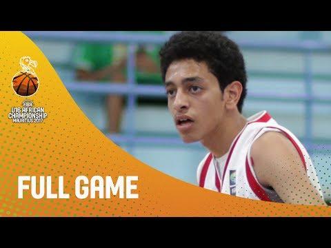 Egypt v Madagascar - Full Game - FIBA U16 African Championship 2017