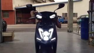 【炬霸科技】雷神 新 勁戰 四代 4代 LED 導光 燈 條  尾燈 後燈 YAMAHA New Cygnus X LED 雙 魚眼 雙光 大燈 頭燈 日行燈 跑馬 方向燈