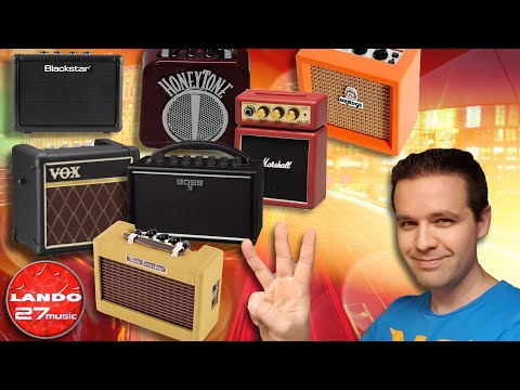 Top 3 Best Mini Guitar Amplifiers