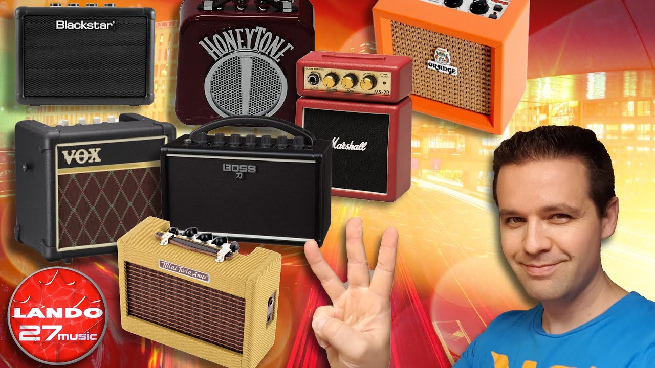 Top 3 Best Mini Guitar Amplifiers