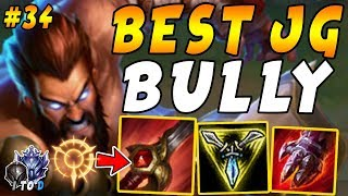 Download MOST POWERFUL JUNGLE BULLY! Udyr with Red Smite and Press the Attack! | Iron IV to Diamond Ep #34 Mp3 and Videos