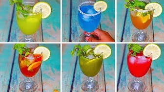 6 Refreshing Summer Drinks | Cold Drinks For Summer | Yummy Summer Drinks Recipe