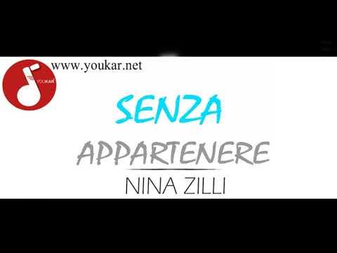 KARAOKE NINA ZILLI SENZA APPARTENERE BASE youkar.net