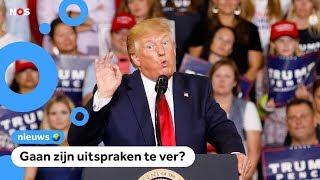 Boze reacties op toespraak van president Trump