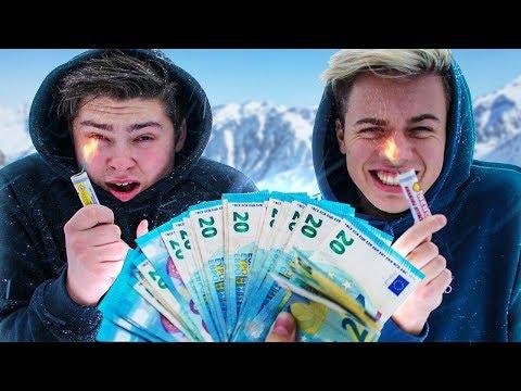 Wie het langste vuurwerk vasthoudt wint 1000 EURO!