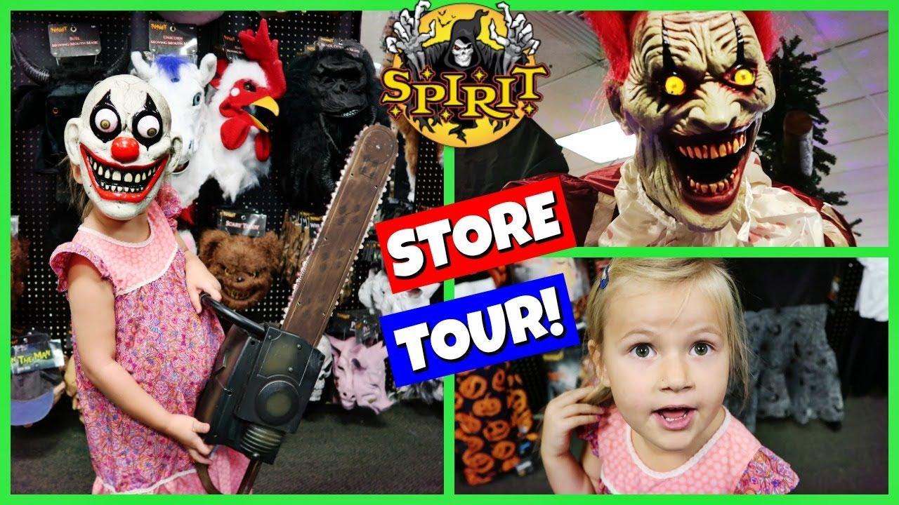 spirit halloween store tour 2017! - youtube