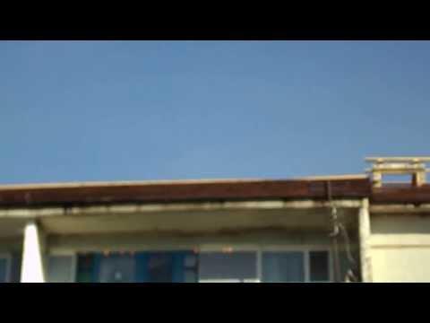 НЛО в Псковской области Себежском р-не в посёлке Идрица ул. Льнозаводская над домом №6