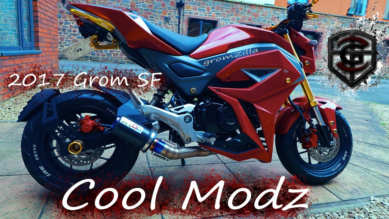 New Mods grom 2017 part 2 | Epic - YouTube