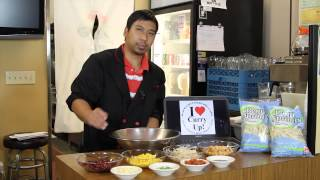 Chef Wongie Cooking Tutorial   Asian Fusion Mexican Bean Salad With Fuji Natural Bean Sprouts Update