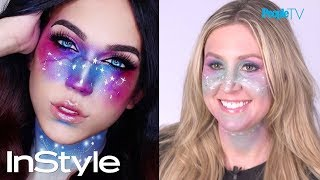 Trust Us, We Tried It: DIY Galaxy Makeup | InStyle