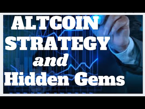 Cryptocurrency Alt coin Strategy & Hidden Gems for 2020 and 2021