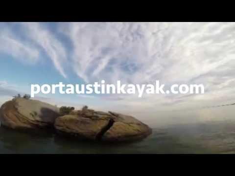 Kayak the beautiful Broken Rocks Trail at Port Austin Kayak