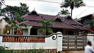 Kerala Traditional Nalukettu Style House at Chalakudy | Thrissur District, Kerala
