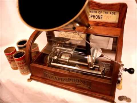 Columbia BS 1897 Coin-Operated Graphophone playing Ada Jones