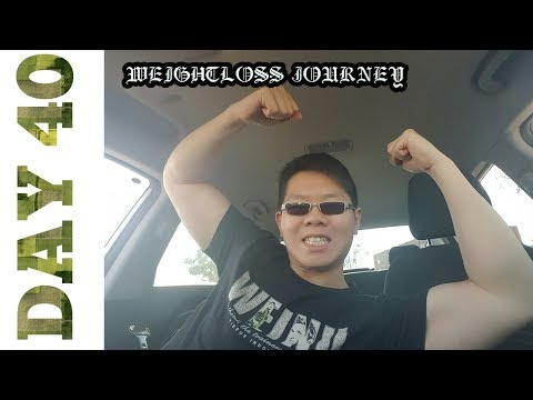 MY WEIGHT LOSS JOURNEY: DAY 40 5TH WORKOUT IN A ROW THIS WEEK