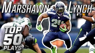 Marshawn Lynch Top 50 Most Astonishing Plays Of All Time! | Nfl Highlights