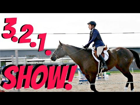 FIRST TIME JUMPING AT A HORSE SHOW! Day 262 092218