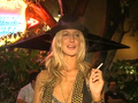 Lady Victoria Hervey at Chateau Marmont