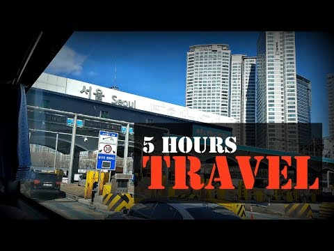 From Ulsan to Seoul by an Express Bus [Vlog #17]