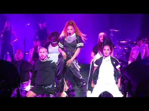 Janet Jackson Control / Whydfml / Pleasure Principle State Of The World Tour 2018 Syracuse