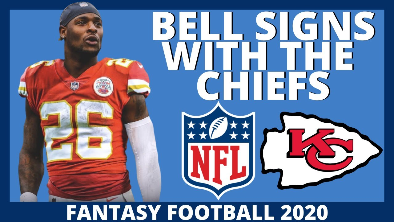 NFL BREAKING NEWS - Le'Veon Bell Signs With The Kansas City Chiefs - 2020 Fantasy Football