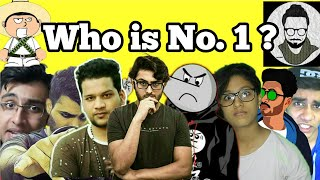 Top 10 Roasters in India 2018 | Carryminati, Angry Prash, Mallika, bakchod baba ji, hadd bc