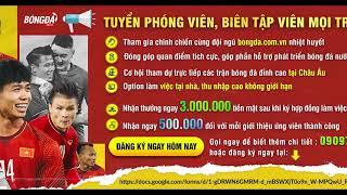 Tuyển dụng BongDa.com.vn
