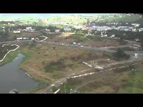 AERIAL VIEW FROM CAR NICOBAR TO PORT BLAIR & BACK AS ON (04 -02- 2014), ANDAMAN,INDIA