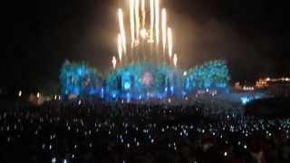 The Best Fireworks Tomorrowland 2014