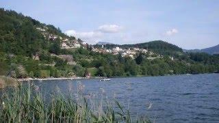 Cartolina dalla Valsugana - Lago di Caldonazzo Trentino