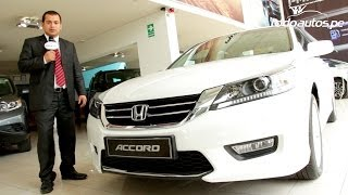 Honda Accord 2014 presentado por FastLane | Video en Full HD | Todoautos.pe