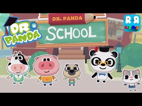 Dr  Panda School Part 2 - iPad app demo for kids - Ellie