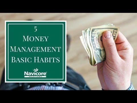 5 Money Management Basic Habits