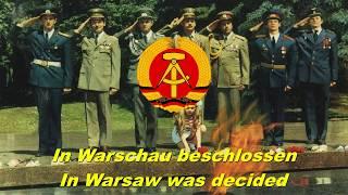 In Warschau beschlossen - In Warsaw was decided ( East German military song)