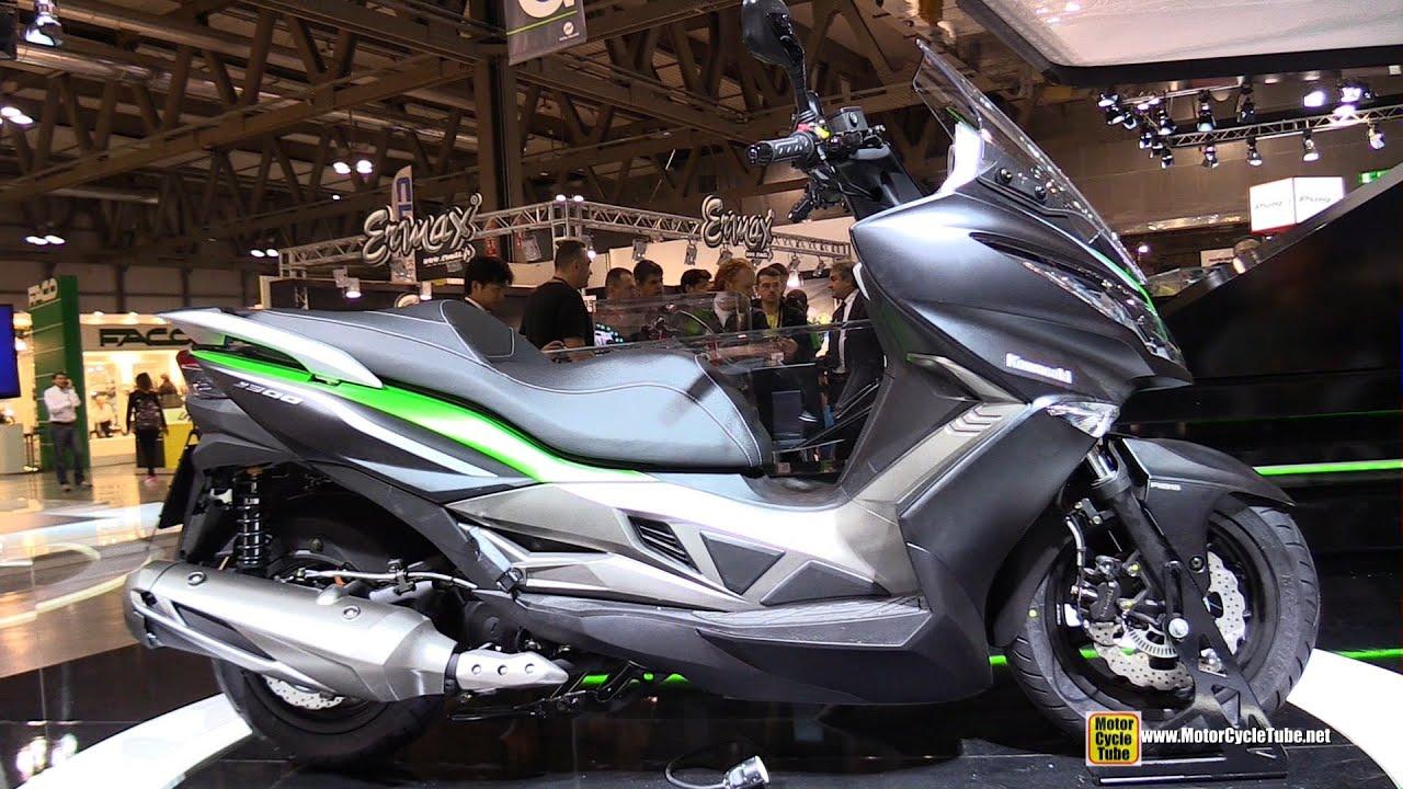 2015 kawasaki j300 maxi scooter turnaround 2014 eicma milano motocycle exhibition youtube. Black Bedroom Furniture Sets. Home Design Ideas